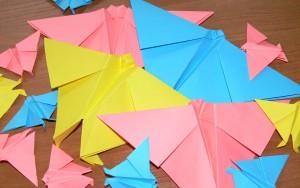 Бабочка оригами видеоурок