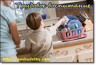 трудовое воспитание детей