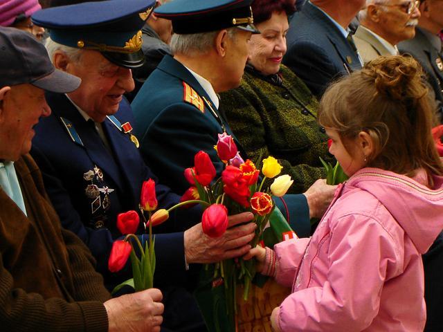 День Победы и дети