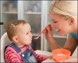 прикорм кашей ребенка
