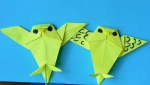 Оригами сова видео
