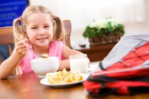здоровый завтрак для школьника