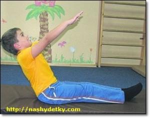 утренняя гимнастика для ребенка