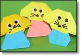 оригами собачки