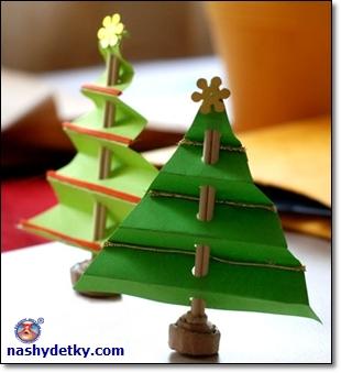 елочка для новогоднего стола