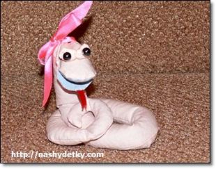 как сделать змею