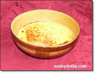 крем-брюле десерт