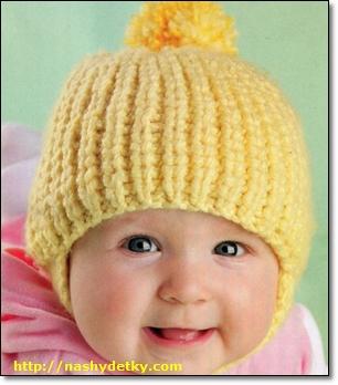 вязаная-шапка-своими-руками