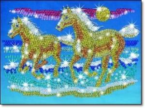 мозаика год лошади