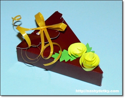 упаковка тортик
