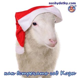 как встречать год козы
