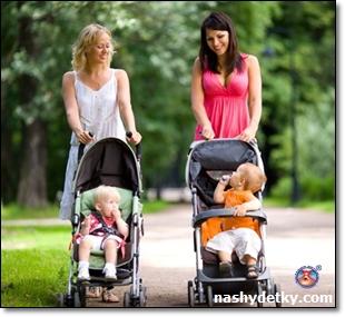 современные модели детских колясок