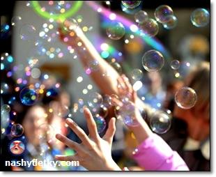 мыльные пузыри как сделать