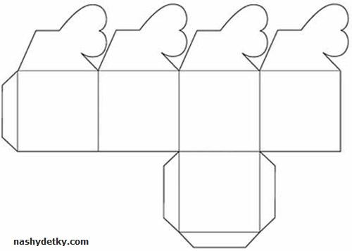 Коробочка из бумаги с сердечком своими руками 50