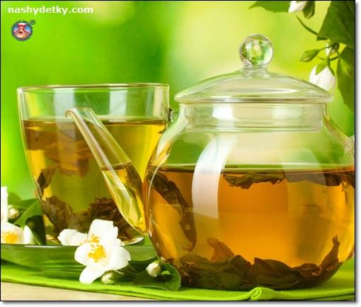 зеленый имбирный чай