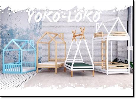 домики-кровати yoko-loko
